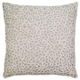 Aura Throw Pillow in Natural/White