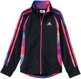 adidas Girls 4-6x Watercolor Full-Zip Score Keeper Jacket