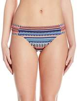 Jag Women's Tribal Essence Strappy Side Full Coverage Swimsuit Bikini Bottom