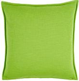 Lisa Perry Jersey Pillow-GREEN