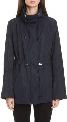 Moncler Drawstring Waist Short Jacket