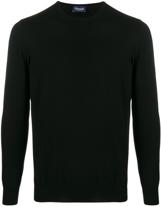 Drumohr cashmere crew-neck jumper