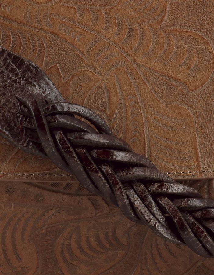 Golden Goose Deluxe Brand Brown Leather Shoulder Bag