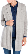 Qi Ribbed Open Cardigan