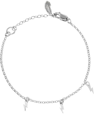Harry Rocks Mini Bolt Charm Bracelet Silver