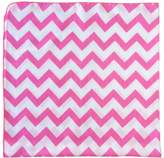 "Satsuma Designs Muslin Swaddling Blanket, Hot Pink, 40"" square, Polybagged"