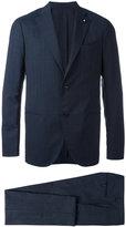 Lardini light check two-piece suit - men - Cupro/Viscose/Wool - 50