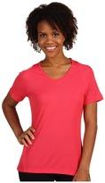 Patagonia - Women's Capilene 2 Lightweight T-Shirt (Rhubarb - Cerise X-Dye) - Apparel