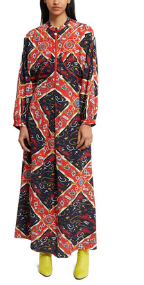 Opening Ceremony Sorority Print Maxi Dress