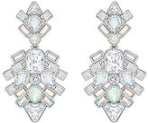 Swarovski Festivity Geometric Crystal Chandelier Statement Earrings