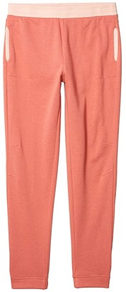 Columbia Kids French Terry Jogger (Little Kids/Big Kids) (Cirrus Grey Heather) Girl's Casual Pants
