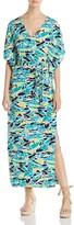 Leota Rosie Fern Print Maxi Dress