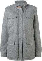 Loro Piana multi-pockets short coat
