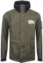 Billionaire Boys Club Hooded Rain Jacket Green