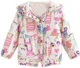 Little Spring LittleSpring Little Girls' Hoodies Bird Printing Size 3T
