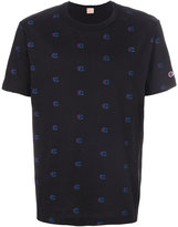 Champion pattern print T-shirt