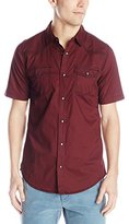 Burnside Men's Thorn Plaid Woven Shirt