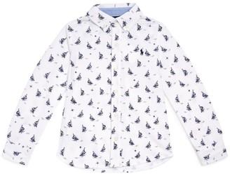 Ralph Lauren Kids Long-Sleeved Button-Down Shirt (5-7 Years)