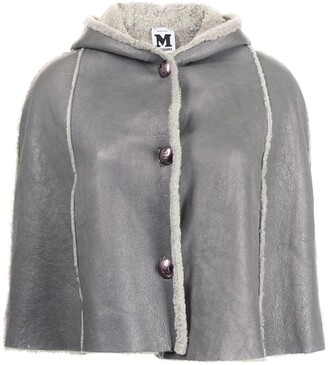 Missoni Pre-Owned Shearling Cape Poncho