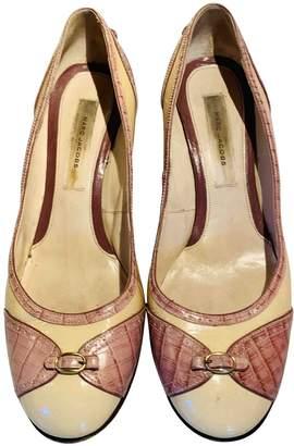 Marc Jacobs Beige Patent leather Heels