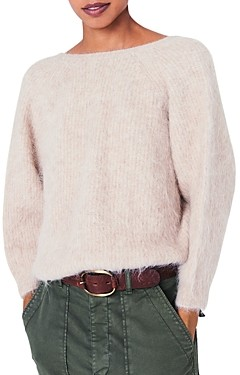 BA&SH ba & sh Fill Knotted Back Sweater