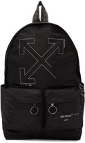 Off White Off-White Black Unfinished Backpack
