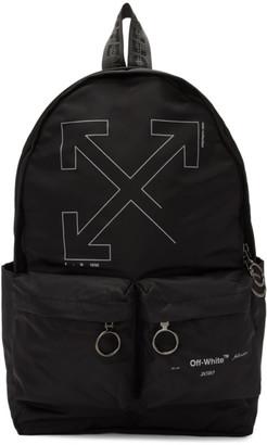 Off-White Black Unfinished Backpack