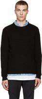 Public School Black Moving Triangle Sweater