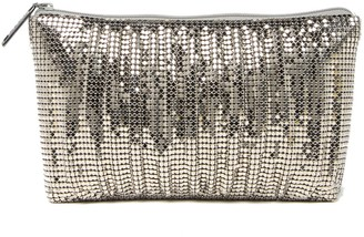 Whiting & Davis Mesh Cosmic Zip Pouch