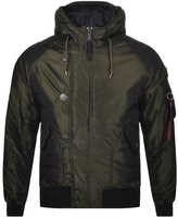 Alpha Industries Hunter II Jacket Green