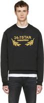 DSQUARED2 Black Soft Logo Sweatshirt