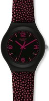 Swatch Women's Analogue Watch with multicolour Dial Analogue Display - YGB4005