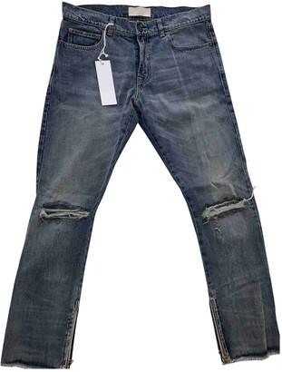 Ih Nom Uh Nit Blue Cotton Trousers