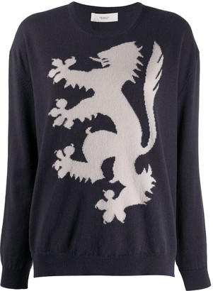 Pringle Lion Rampant cashmere jumper