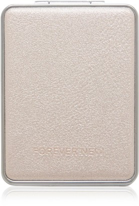 Forever New Lola Compact Mirror - Porcelain Sparkle - 00