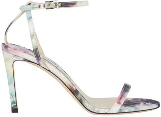 Jimmy Choo Minny 85 Tie-Dye Sandals
