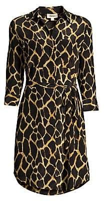 L'Agence Women's Stella Silk Safari Dress