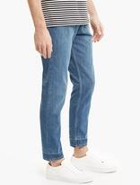 Lanvin Blue Denim Panelled Jeans