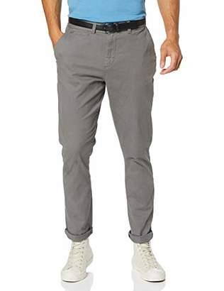 "Jacamo Men's Smart Belted Chino 33"" Long Trousers,(Size:54L)"