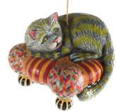 Mackenzie Childs Wonderland Cheshire Cat Tree Decoration