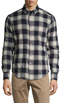 Naked & Famous Denim Checkered Regular Sportshirt