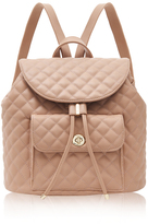 Marc B Quilted Camel Backpack
