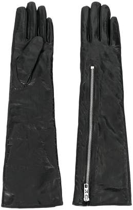 Karl Lagerfeld Paris Rocky slouchy long gloves