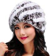 Changeshopping Women Hats Handmade Warm Caps Female Headgear