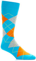 Daniel Cremieux Bright Argyle Crew Dress Socks