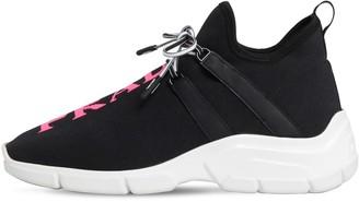 Prada 30mm Xy Neoprene Slip-on Sneakers