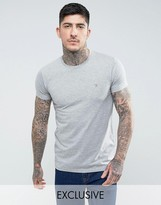 Farah T-shirt With F Logo Slim Fit Exclusive