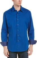 Robert Graham Fraktur Classic Fit Woven Shirt