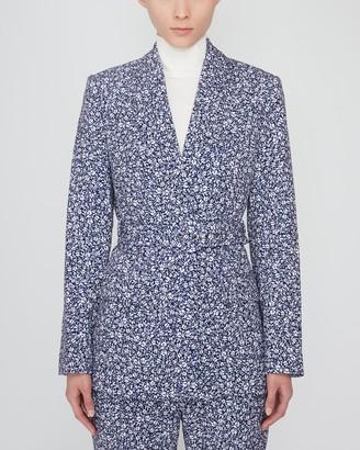 Jonathan Simkhai Jacky Floral Belted Blazer