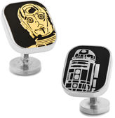 Asstd National Brand Star Wars R2-D2 and C-3PO Cufflinks